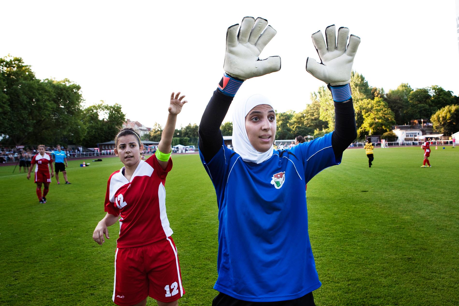 Arab women's soccer
