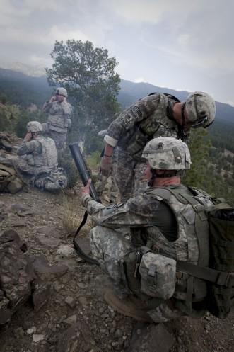 amerikanische Truppen in Afghanistan