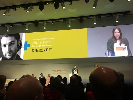 Fritz Schaap Medienpreis