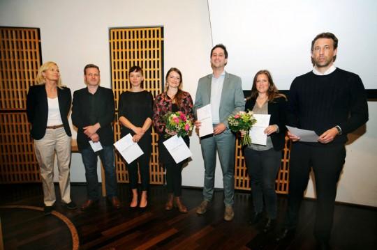 Hansel-Mieth-Preis Verleihung 2017 Preisträger