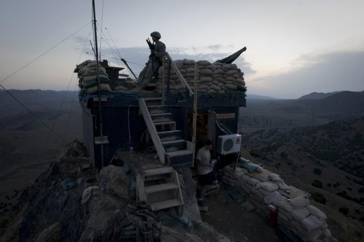 American troops in Afghanistan