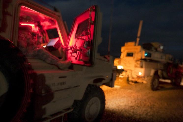 American troops in Afghanistan.