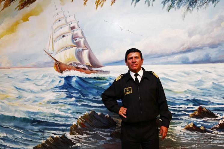 The Bolivian navy