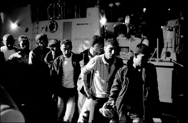 Flüchtlinge auf Lampedusa