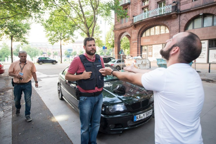 Jagd auf Mannheims laute Söhne