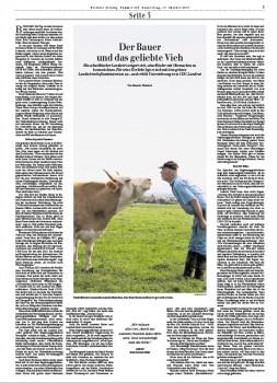 Der Bauer und das geliebte Vieh