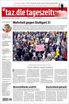 Majority against Stuttgart 21