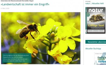 Neonicotinoide-Interview natur.de