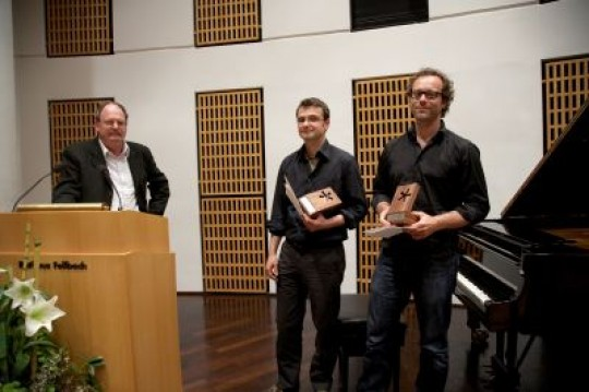 UEberreichung Hansel-Mieth-Preis