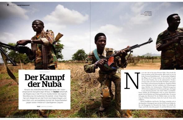 Der Kampf der Nuba