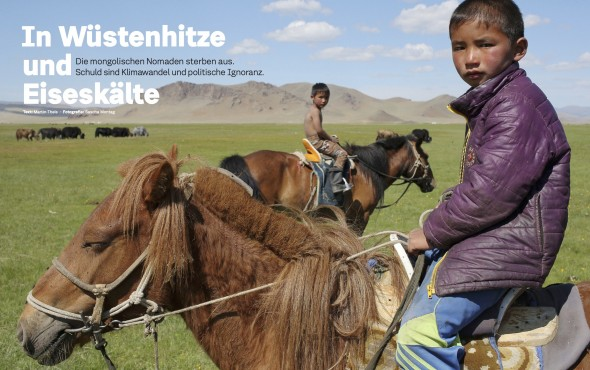 Klima Mongolei
