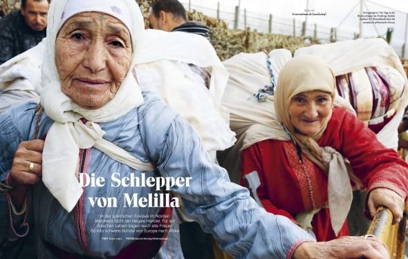 Schlepper von Melilla