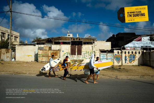 Gaza Surfen