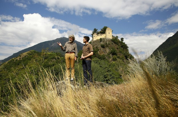 Bergspaziergang mit Reinhold Messner