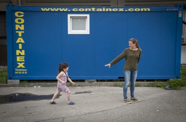 Deutschland, Flüchtlinge, Kinder, Heim, Flucht