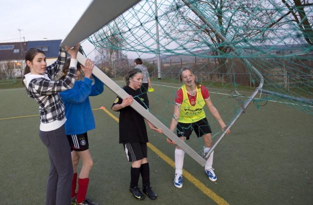 Mädchenfußball in Rommelshausen